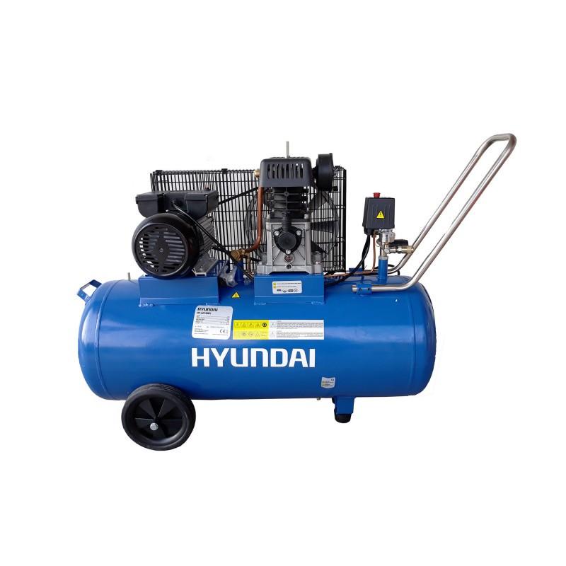 Compresor cu piston cu butelie de 100 de litri HYUNDAI AC10001 poza