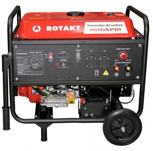 Generator de curent cu sudura Rotakt ROGS190, 3.9 KW imagine 2021