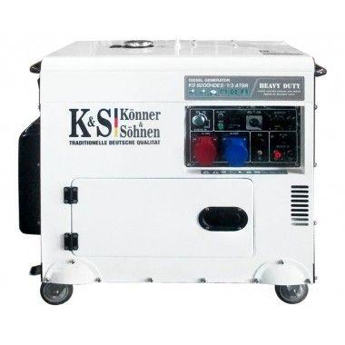 Generator de curent diesel 7.5 kW, KS 9200HDES-1/3 ATSR – Konner and Sohnen