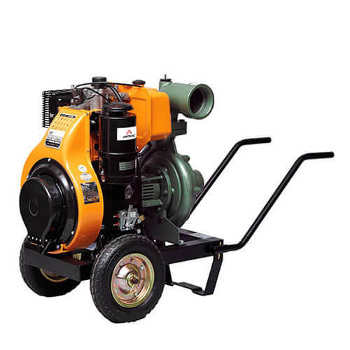 Motopompa centrifuga de inalta presiune monoetajata Diesel Anadolu 4 LD 640 LY3