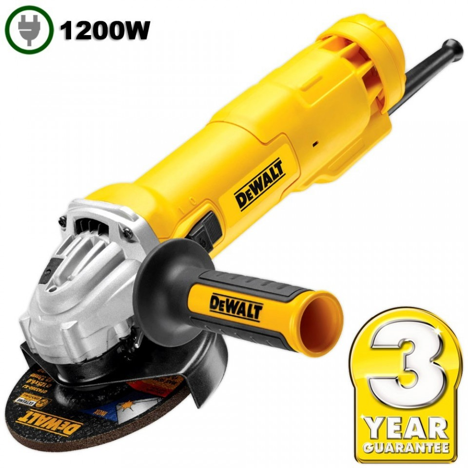 Polizor Unghiular Dewalt DWE4233 1400W 125MM imagine 2021