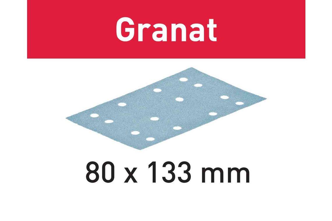Festool Foaie abraziva STF 80x133 P180 GR/10 Granat imagine 2021