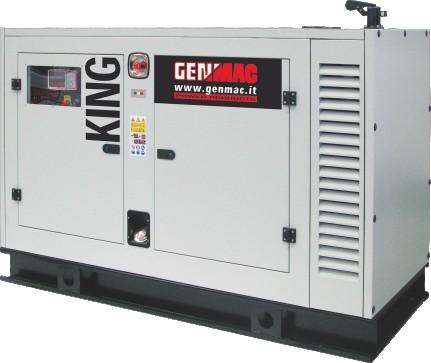Generator de curent insonorizat King G60PSA AVR inclus poza