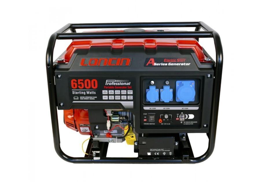 Generator de curent Monofazat 5.5 KW Loncin LC6500D-A Series