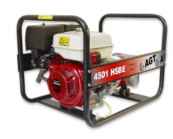 Generator de curent monofazat 9HP AGT 4501 HSBE STANDARD