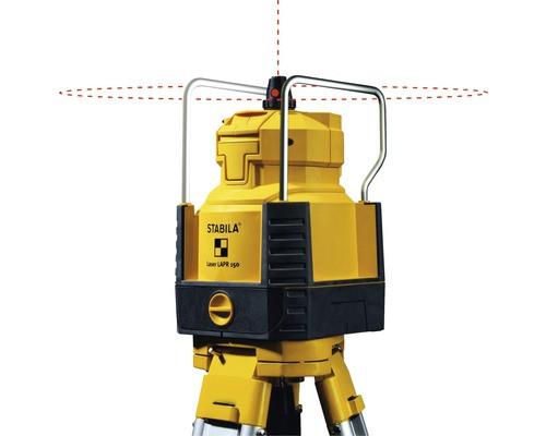 Nivela laser rotativ Stabila Set LAPR 150 orizontal, vertical, cu trepied si rigla de 2,4 m imagine 2021