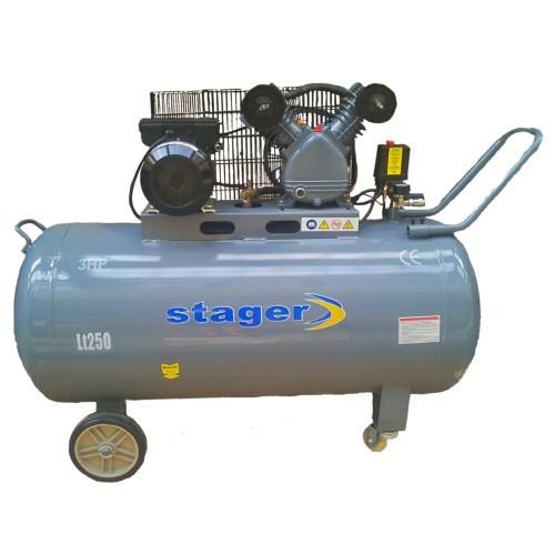 COMPRESOR 250L 8BAR STAGER HM-V-0.25/250 250L 8BAR imagine 2021