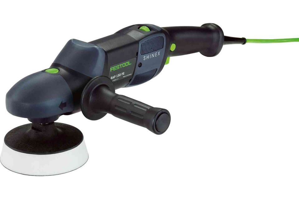 Imagine  Festool Masina Rotativa De Lustruit Rap 150 14 Fe Shinex