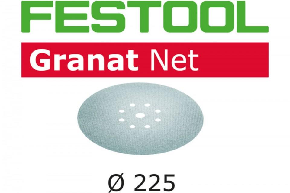 Festool Material abraziv reticular STF D225 P180 GR NET/25 Granat Net imagine 2021