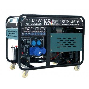 Generator de curent diesel 11.0 kW, KS 14-1DE ATSR – Konner and Sohnen