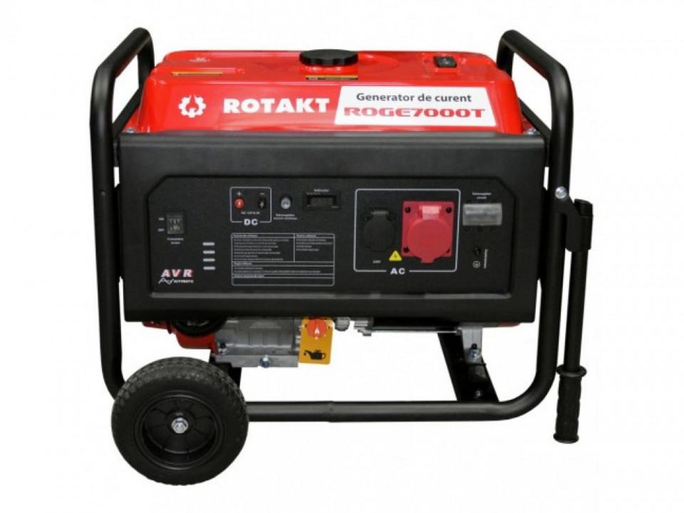 Generator de curent trifazic ROTAKT ROGE7000T, 6.8 kW imagine 2021