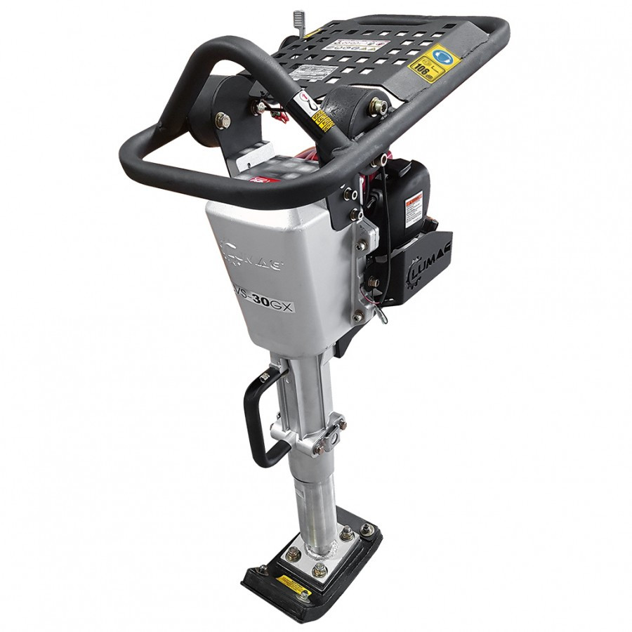 Mai compactor LUMAG LVS30GX 38,5cc lățime talpă 135 mm