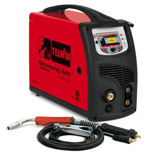 TECHNOMIG 225 PULSE – APARAT DE SUDURA TELWIN tip MIG/TIG/MMA