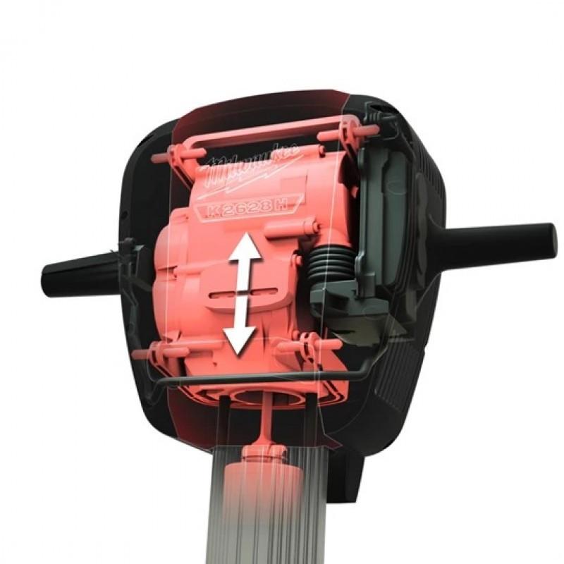 Ciocan Demolator Milwaukee cu motor fara perii, MODEL K2628H, 25.7KG, 64JOULI
