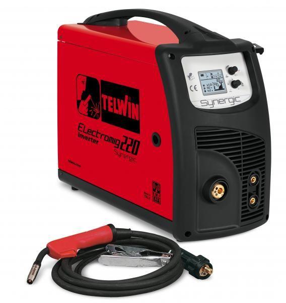 ELECTROMIG 220 SYNERGIC – APARAT DE SUDURA TELWIN tip MIG-MAG/TIG/MMA