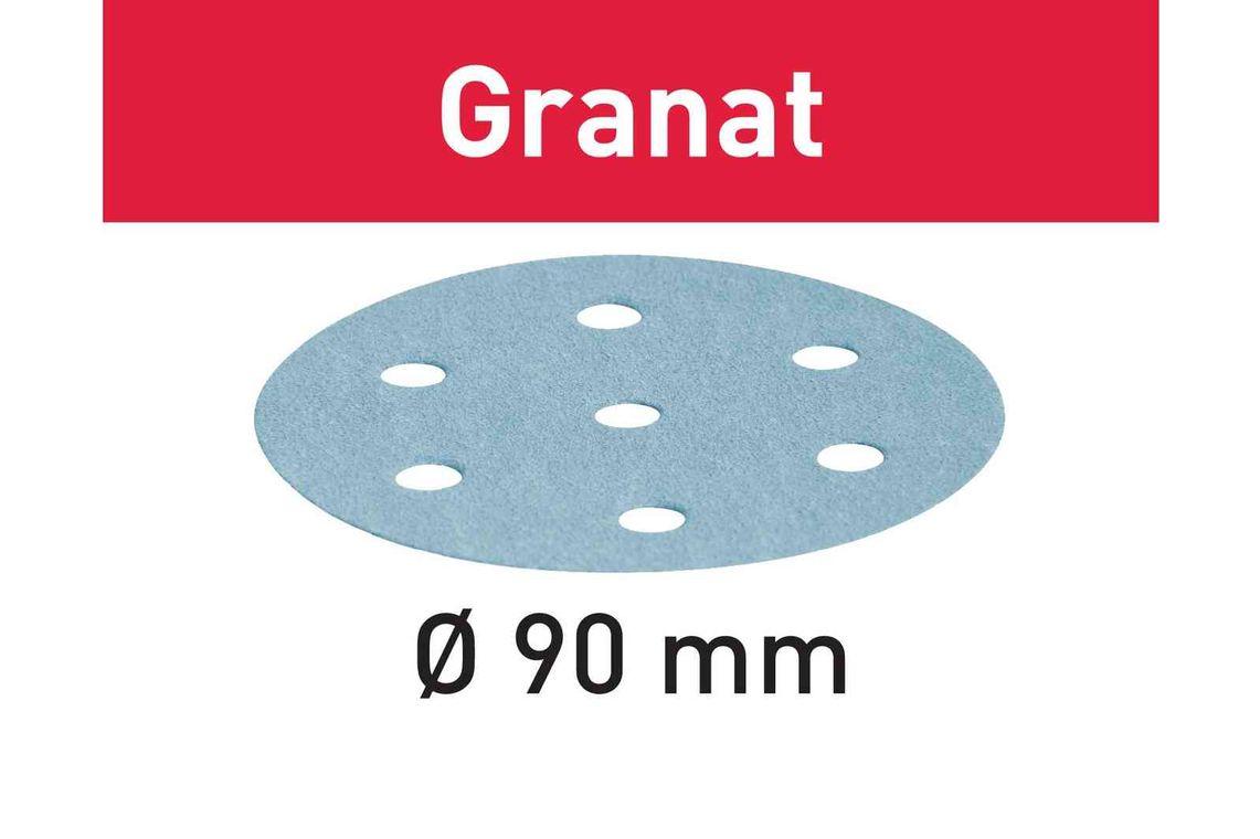Festool Foaie abraziva STF D90/6 P80 GR/50 Granat