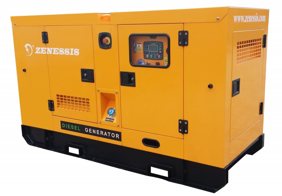 Generator curent diesel residential insonorizat ESE 25 DWR 25kVA imagine 2021