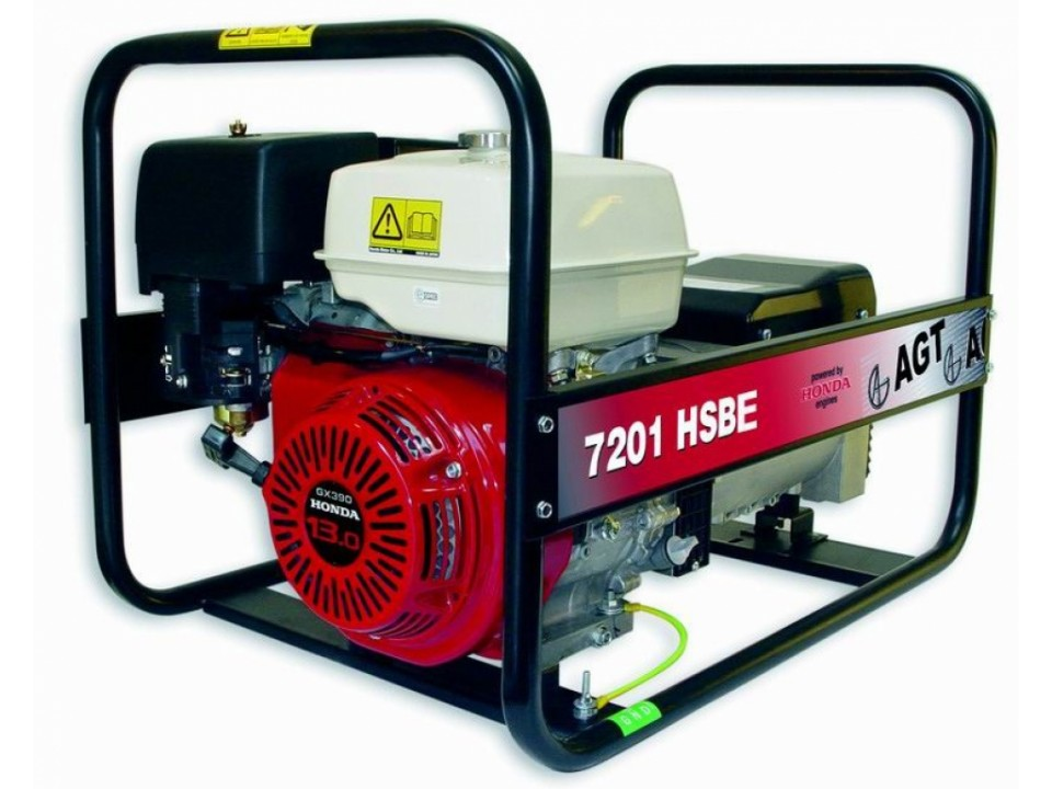 Generator curent monofazat 13HP AGT 7201 HSBE Standard imagine 2021