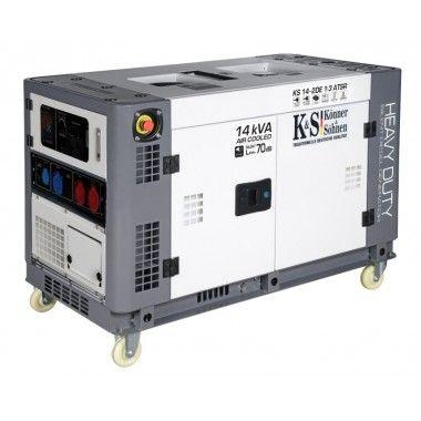 Generator de curent diesel 11.0 kW, KS 14-2DE 1/3 ATSR – Konner and Sohnen