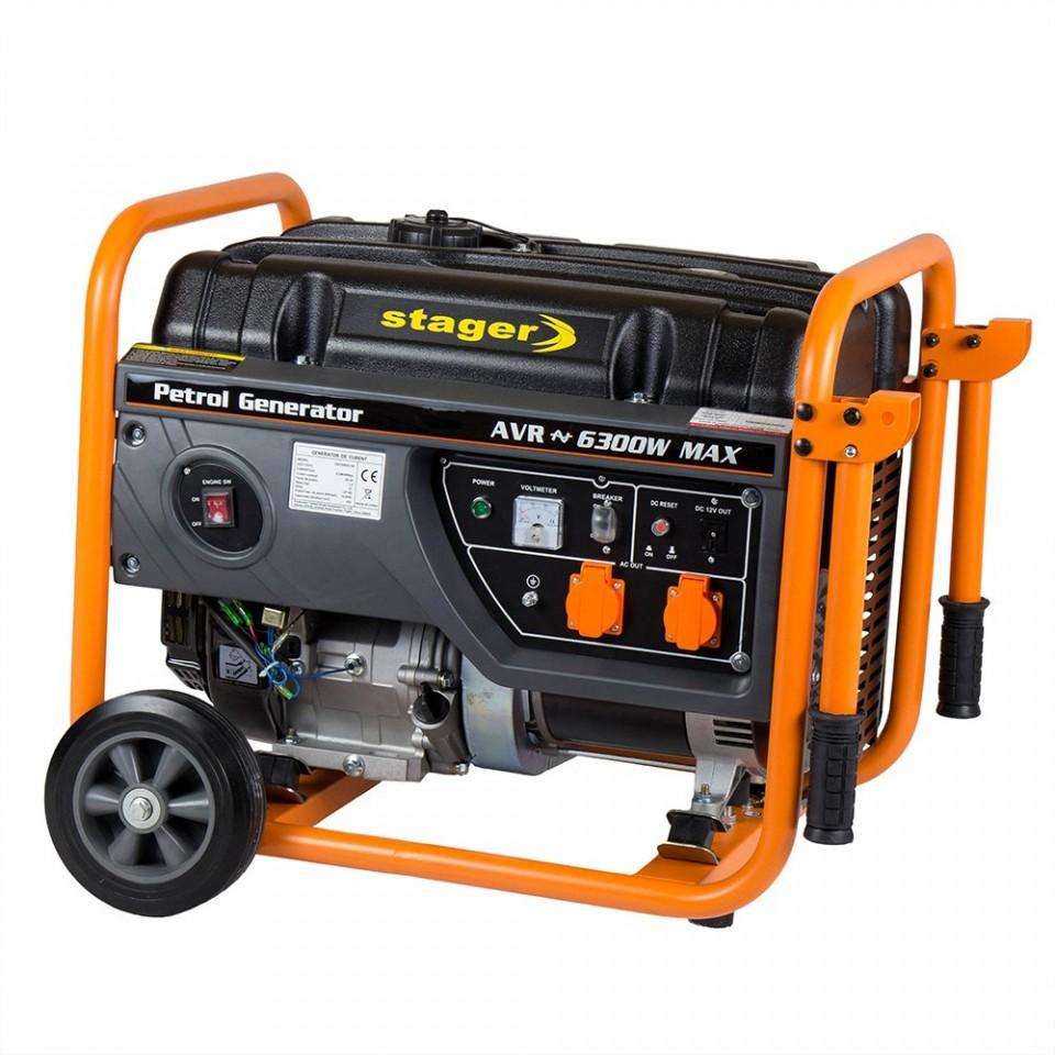 Generator Open Frame Benzina Gg Ew