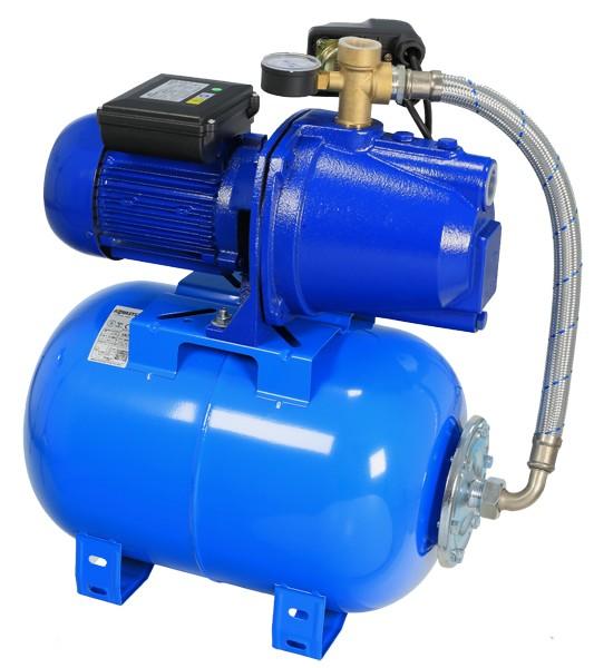Hidrofor WASSERKONIG cu pompa autoamorsanta din fonta si vas de expansiune de 24L 1100W imagine 2021