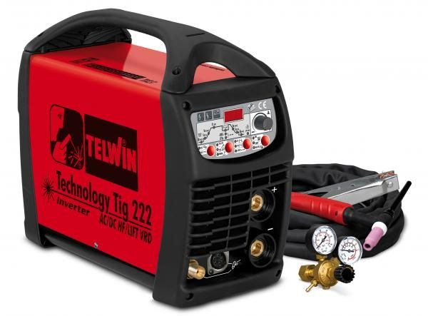 Technology Tig 222AC/DC – HF/LIFT – APARAT DE SUDURA TELWIN tip TIG
