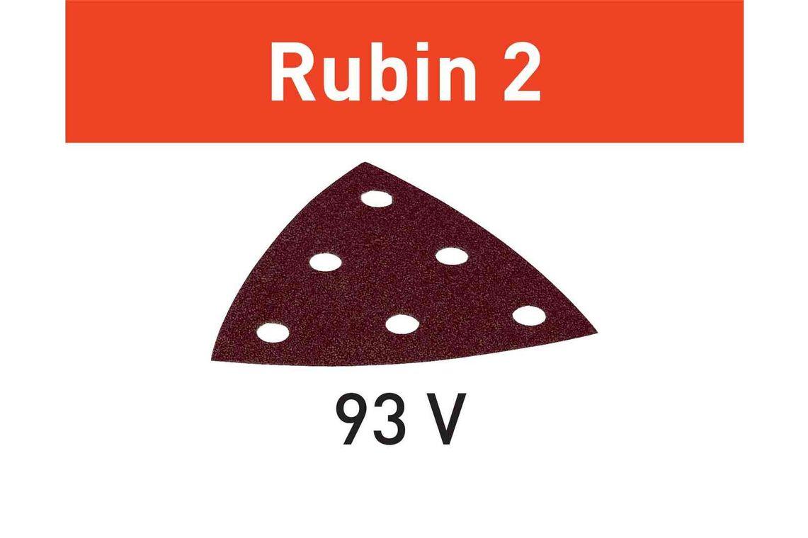 Festool disc de slefuire STF V93/6 P60 RU2/50 Rubin 2