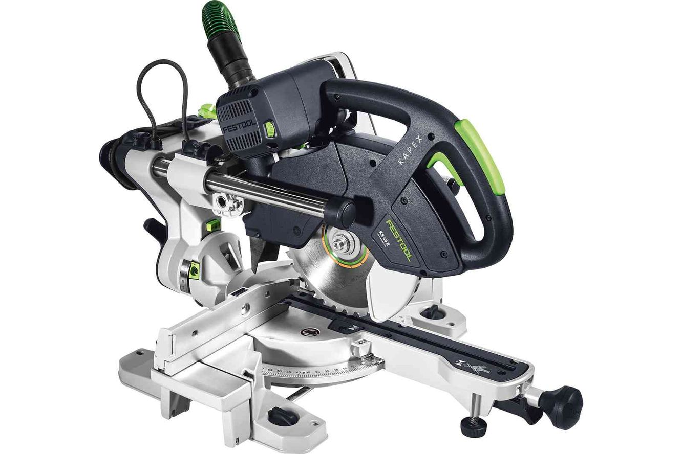 Imagine Festool Ferastrau Circular Stationar Cu Sanie De Glisare Ks 60 E Kapex