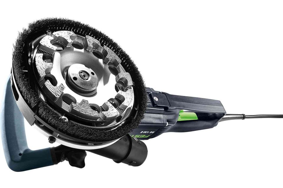 Imagine Festool Polizor Cu Discuri Diamantate Rg 130 E set Dia Hd Renofix