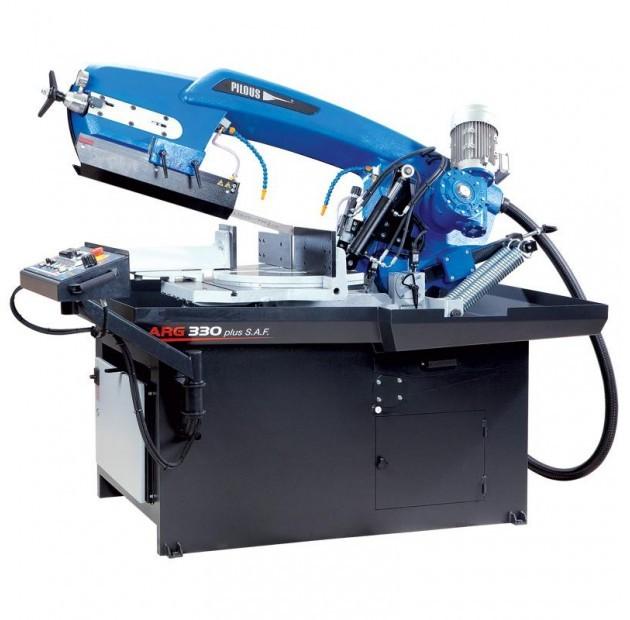 Fierastrau semiautomat cu banda pentru metale 330 mm ARG 330 Plus S.A.F. imagine 2021
