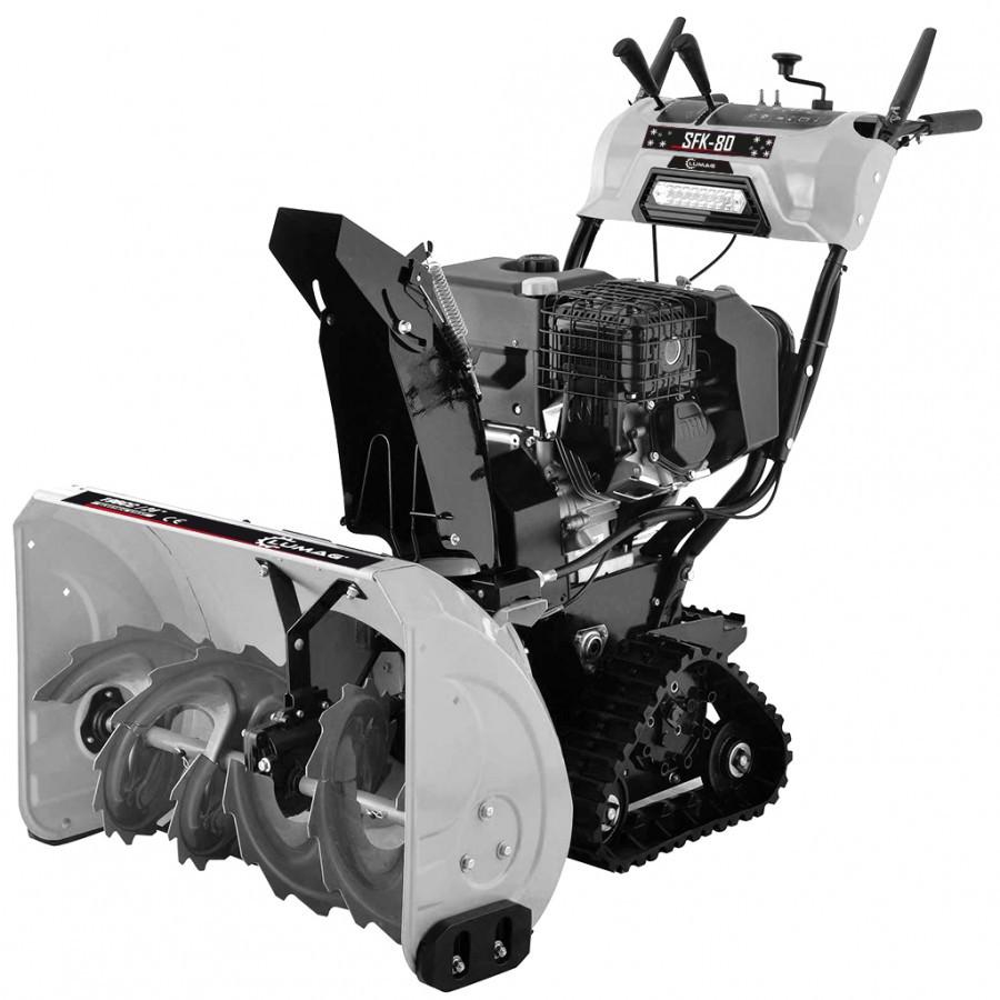 Freză de zăpadă cu șenile LUMAG SFK80420cc lățime de curățare 764 mm