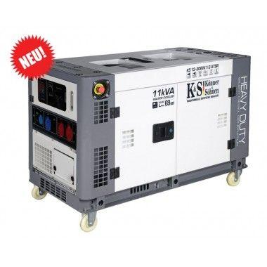 Generator de curent diesel 8.1 kW, KS 13-2DEW 1/3 ATSR – Konner and Sohnen