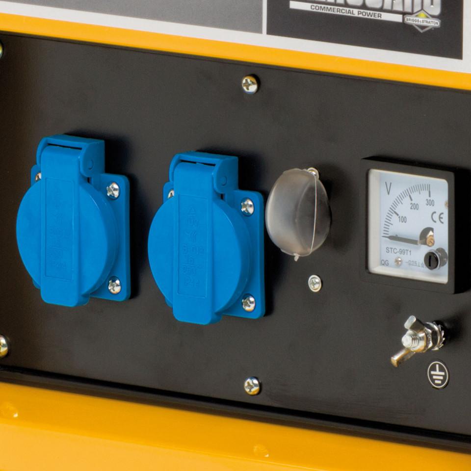 Generator de curent monofazata Briggs & Stratton ProMax 3500A 3,5 kVA, 230V, cadru deschis, AVR