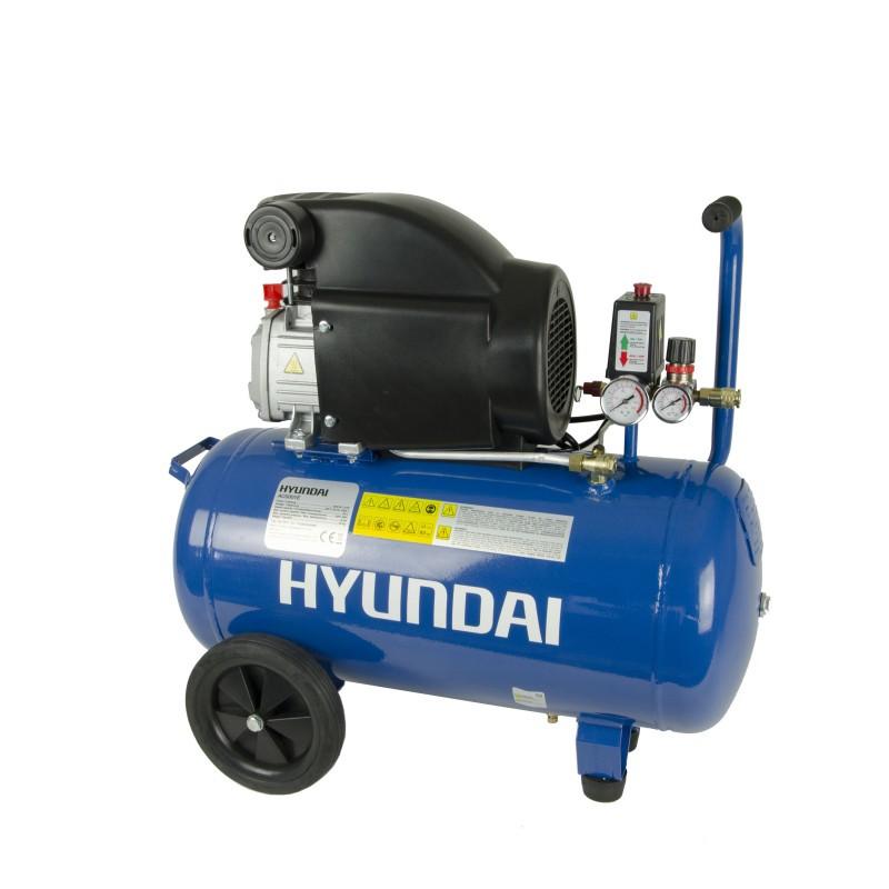 Compresor cu piston cu butelie de 50 de litri HYUNDAI AC5001 imagine 2021