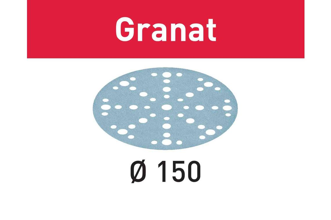 Festool Foaie abraziva STF D150/48 P280 GR/100 Granat imagine 2021