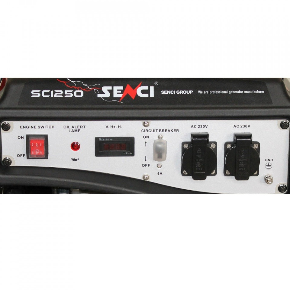 Imagine Generator De Curent Monofazat Senci Sc 1250 Lite Putere Max. 1.0