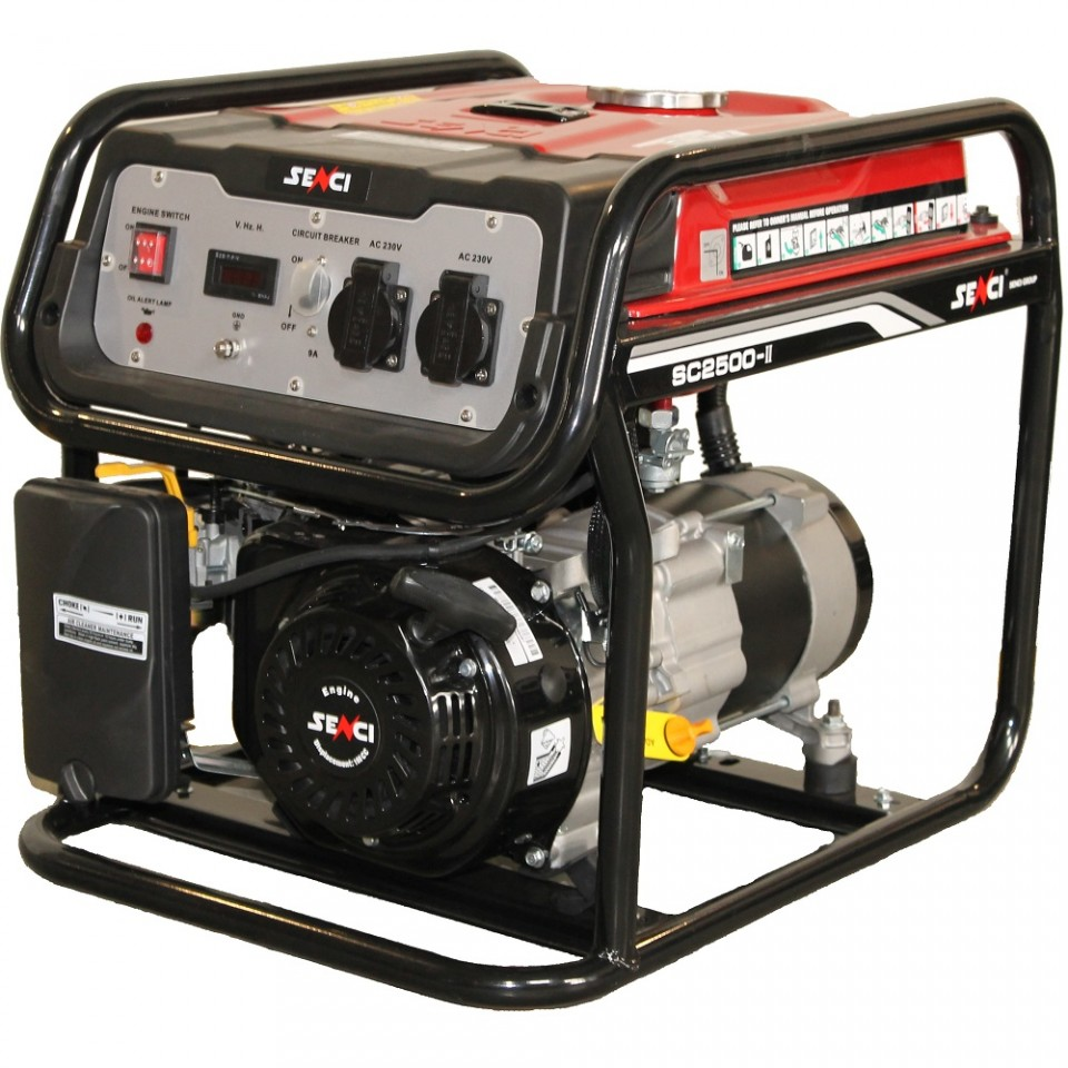 Generator de curent Senci SC-2500, 2200W, 230V - AVR inclus, motor benzina imagine 2021