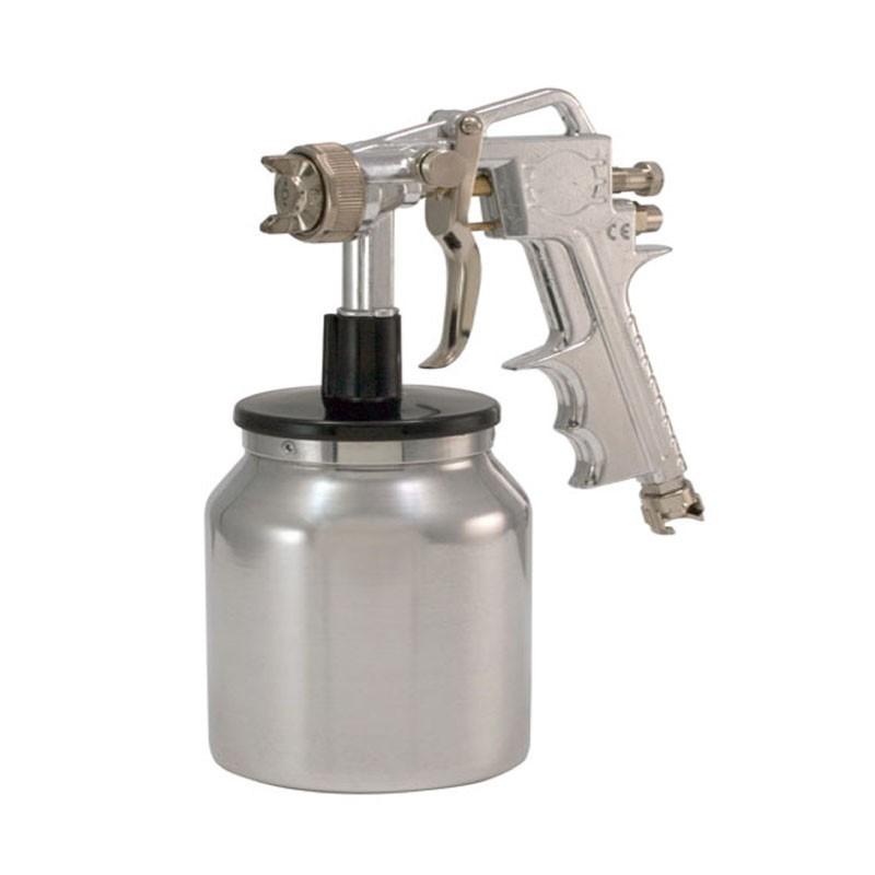 Pistol de vopsit cu cupa jos 1 kg diametru duza 1.5 mm imagine 2021