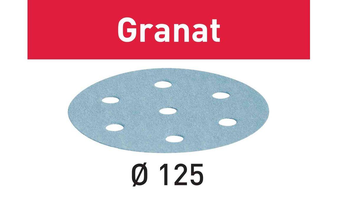 Festool Foaie abraziva STF D125/8 P400 GR/100 Granat