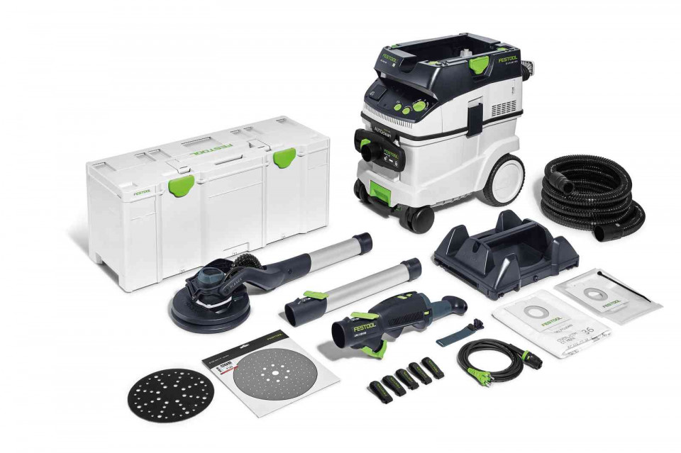 Festool Slefuitor cu brat telescopic PLANEX LHS 2 225/CTL 36-Set imagine 2021