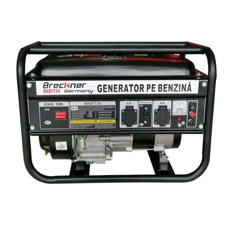 Generator de curent monofazat Breckner BS 2000 (2 x 220V), motor OHV 6 CP, AVR imagine 2021