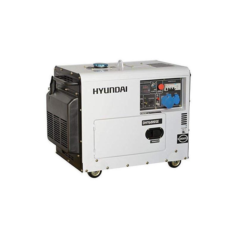 Generator de curent monofazat insonorizat HYUNDAI DHY6000SE putere 5Kw