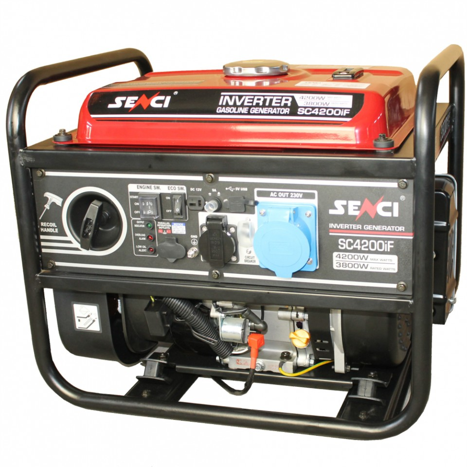 Generator monofazat 4.2 kW inverter Senci SC-4200iF imagine 2021