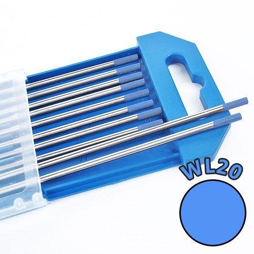 Electrozi wolfram WL20 (albastru) d=2.4 mm