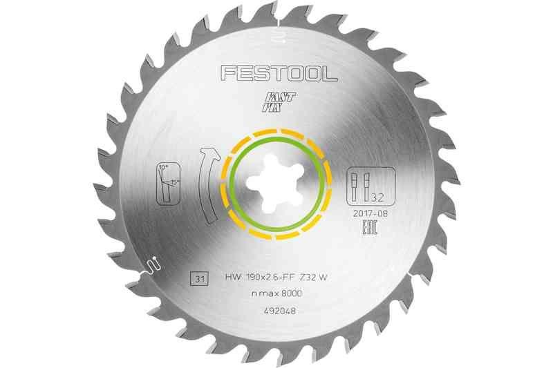 Imagine Festool Panza Universala De Ferastrau 190x26 Ff
