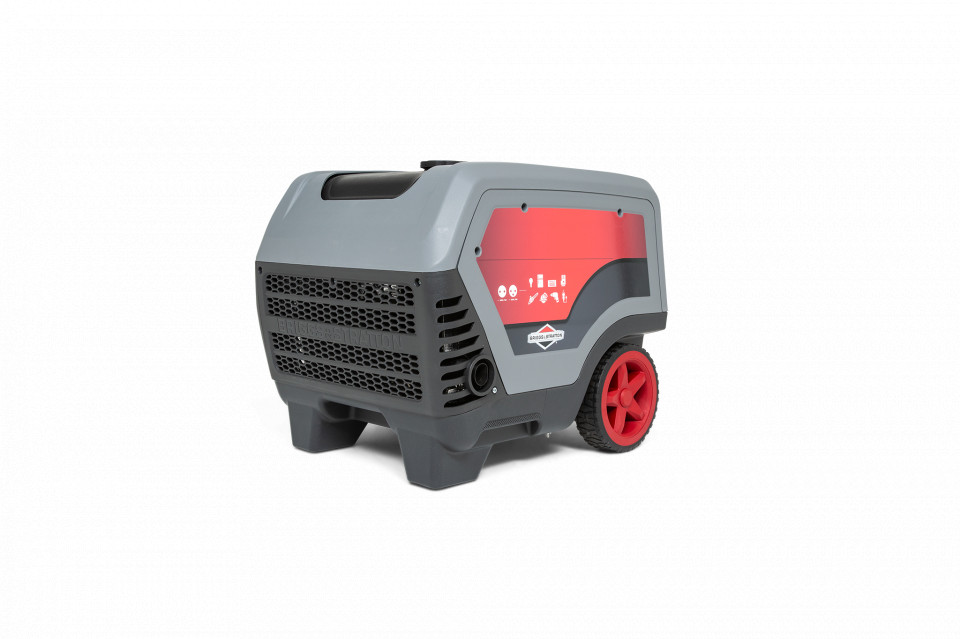 Generator curent monofazat insonorizat Briggs & Stratton Q6500 6,5 kVA, 230V imagine 2021