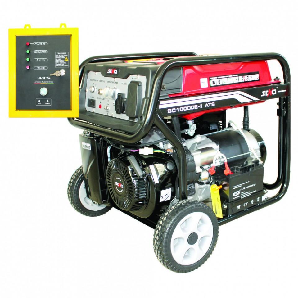 Generator de curent monofazat 8.5 kW SC 10000 E-ATS imagine 2021