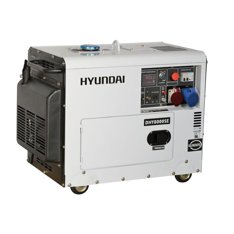 Generator Curent Trifazat Insonorizat Dhy