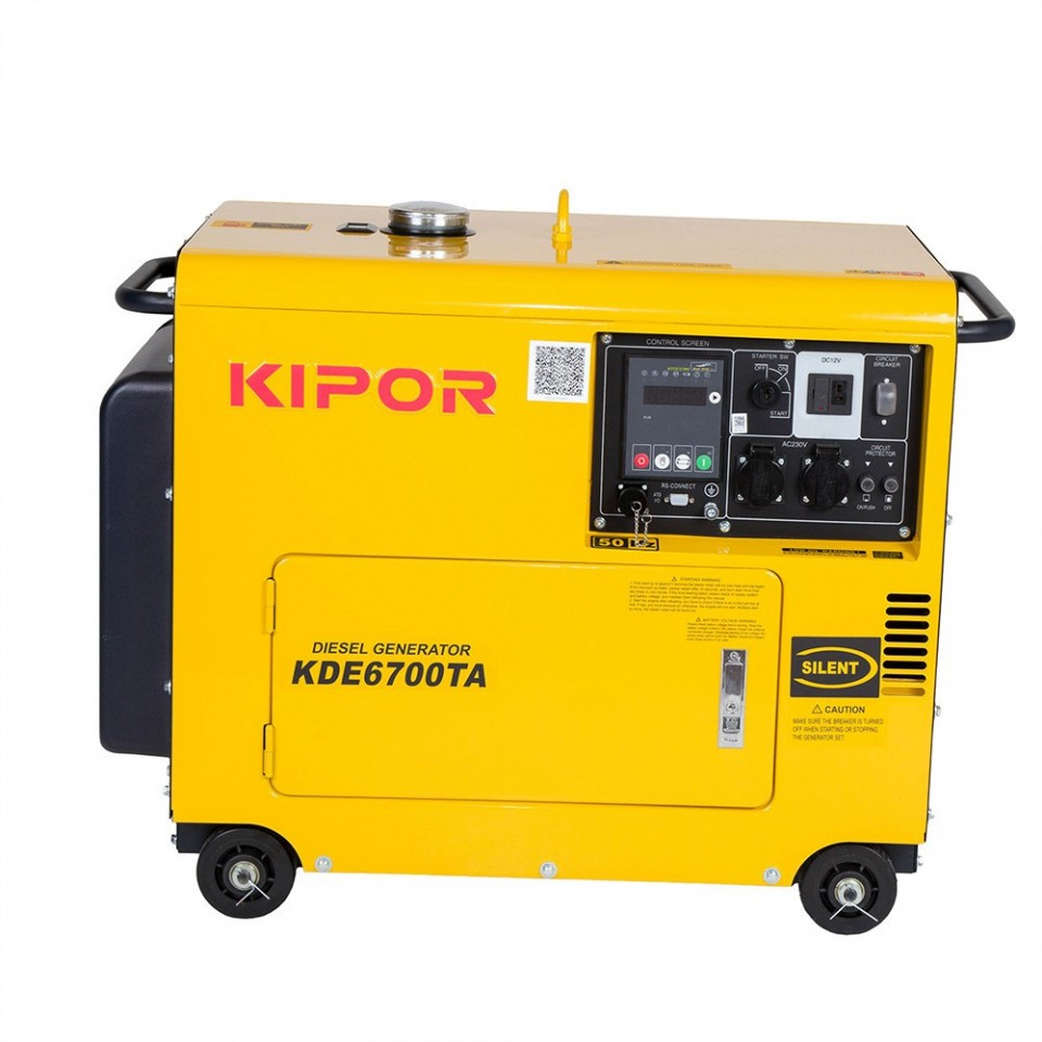 Generator insonorizat Kipor KDE 6700 TA imagine 2021