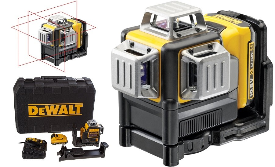 Nivela laser in cruce, autonivelanta, DEWALT DCE089D1G imagine 2021